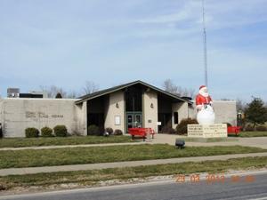 Santa Claus Rådhus - Indiana USA